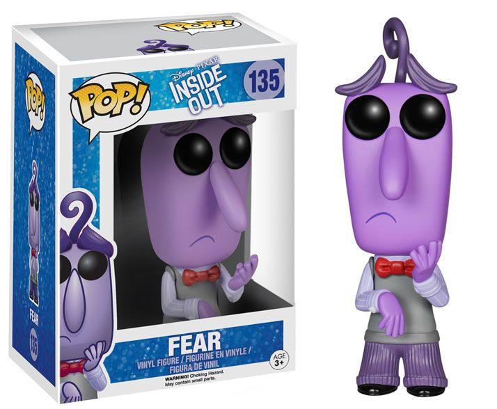 Фигура Funko Pop! Disney: Inside Out - Fear, #135 - 2