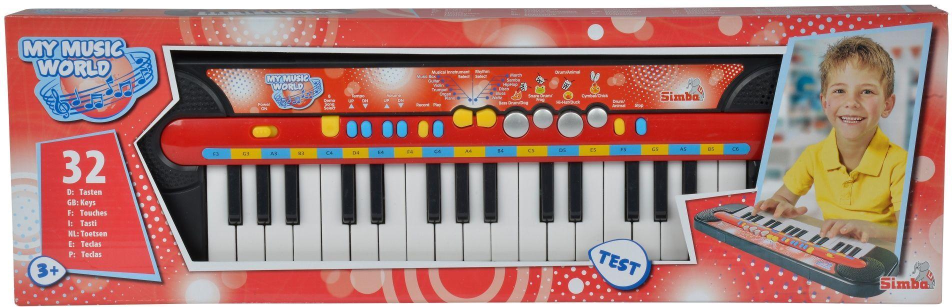 Детска йоника Simba Toys - My Music World - 4