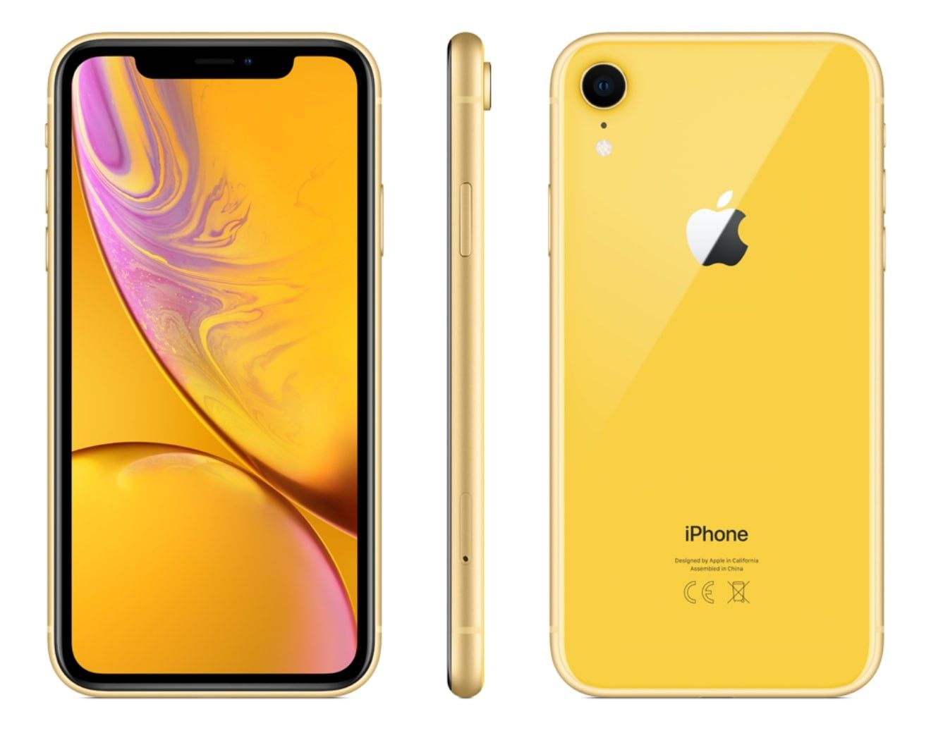 iPhone XR 64 GB Yellow - 3