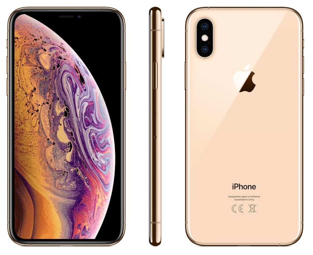 iPhone XS 64 GB Gold - 3