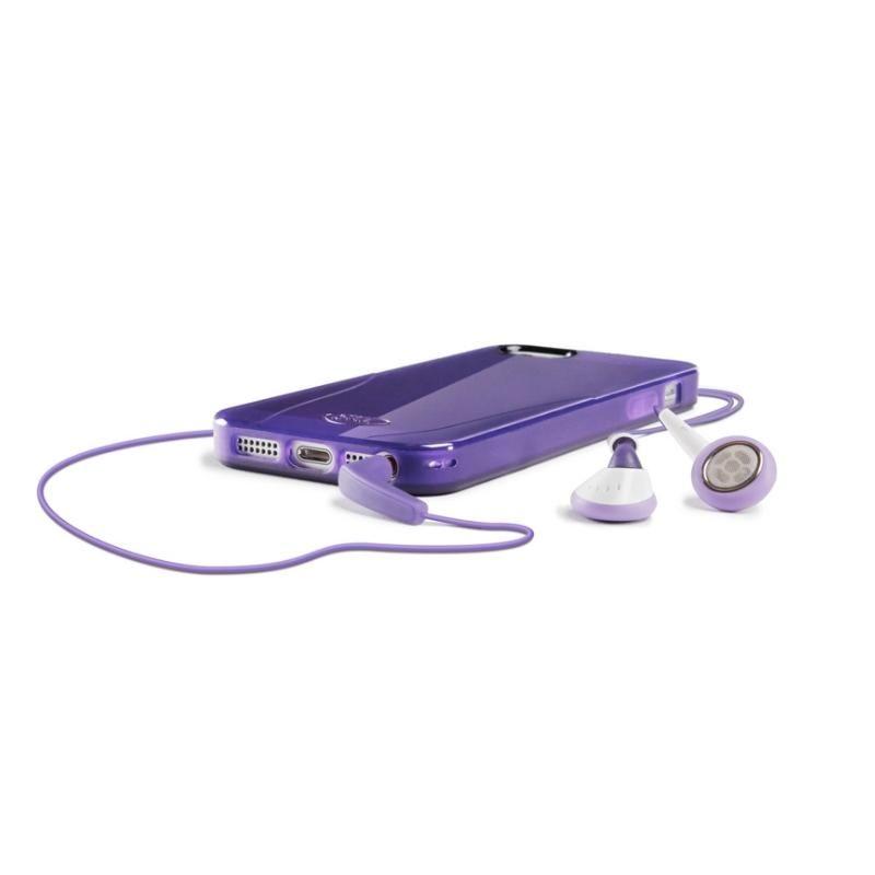 iSkin Solo за iPhone 5 -  лилав - 6