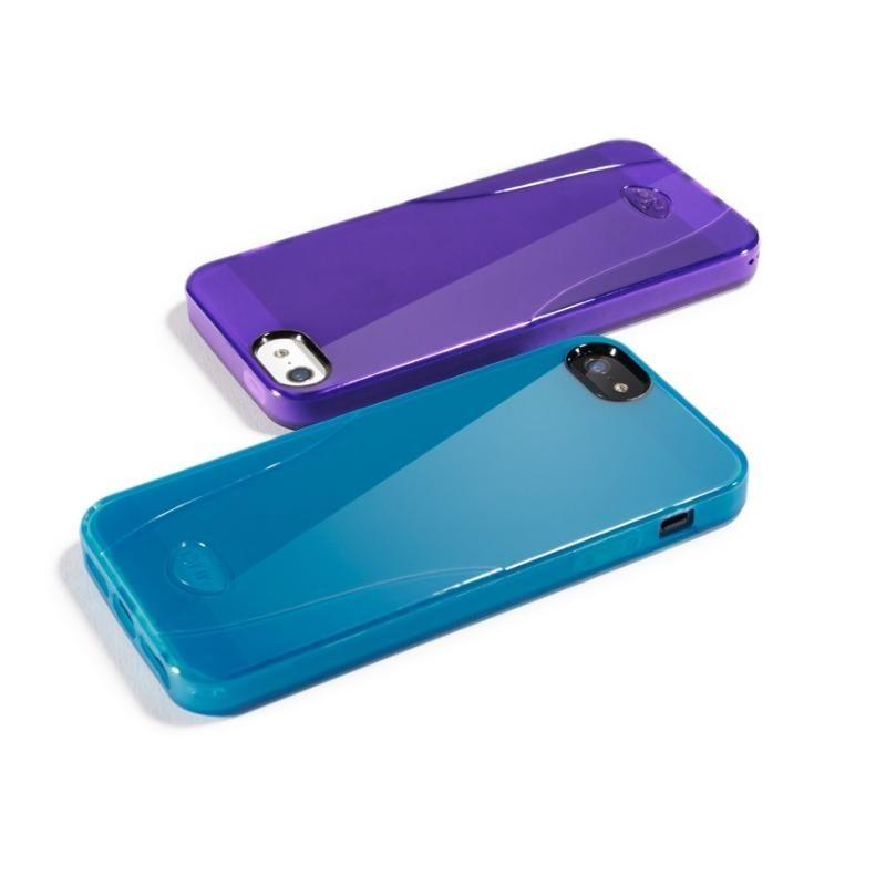 iSkin Solo за iPhone 5 -  лилав - 4