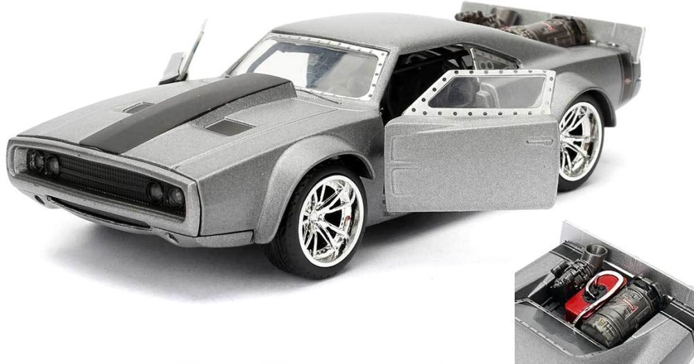 Фигура Metal Die Cast Fast & Furious - Dom's Ice Charger, мащаб 1:32 - 3