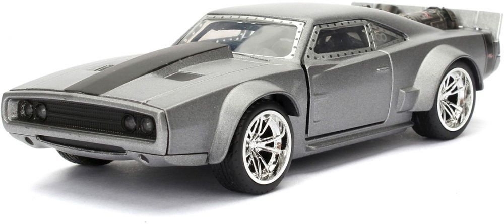 Фигура Metal Die Cast Fast & Furious - Dom's Ice Charger, мащаб 1:32 - 1