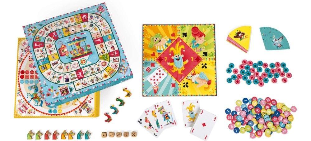 Комплект детски настолни игри Janod, Carrousel - 2