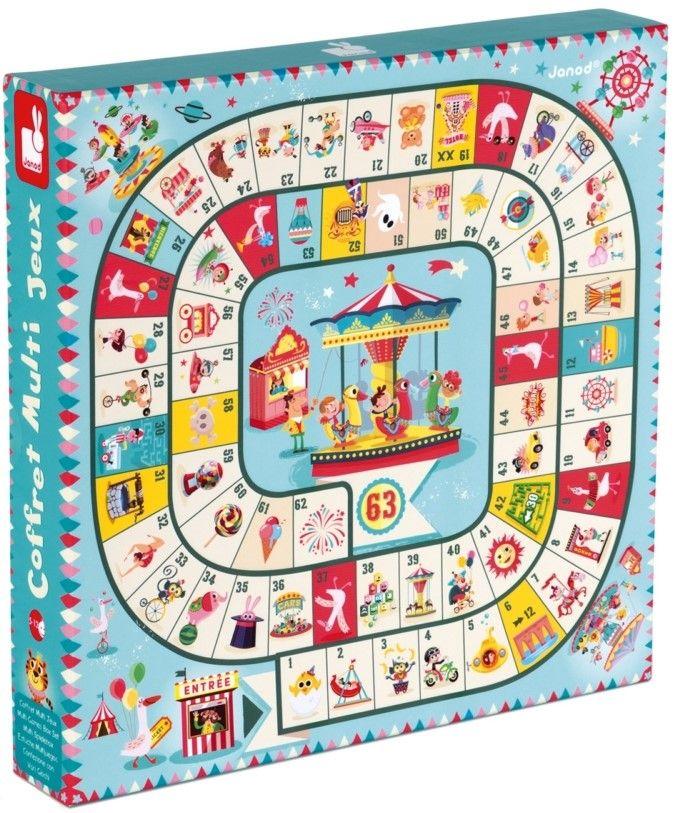 Комплект детски настолни игри Janod, Carrousel - 1
