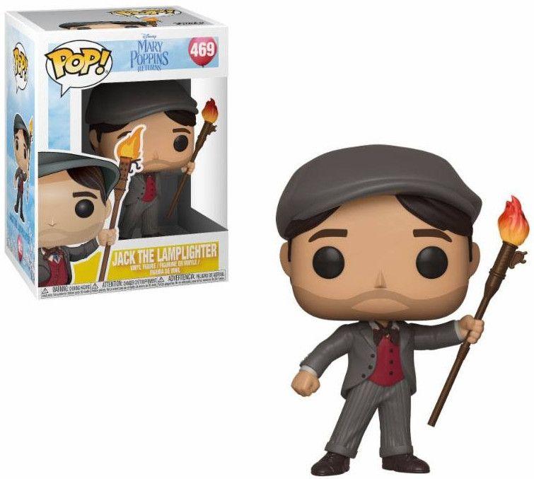 Фигура Funko Pop! Disney: Mary Poppins - Jack the Lamplighter, #469  - 2