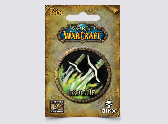 Jinx World of Warcraft Rogue значка - 2