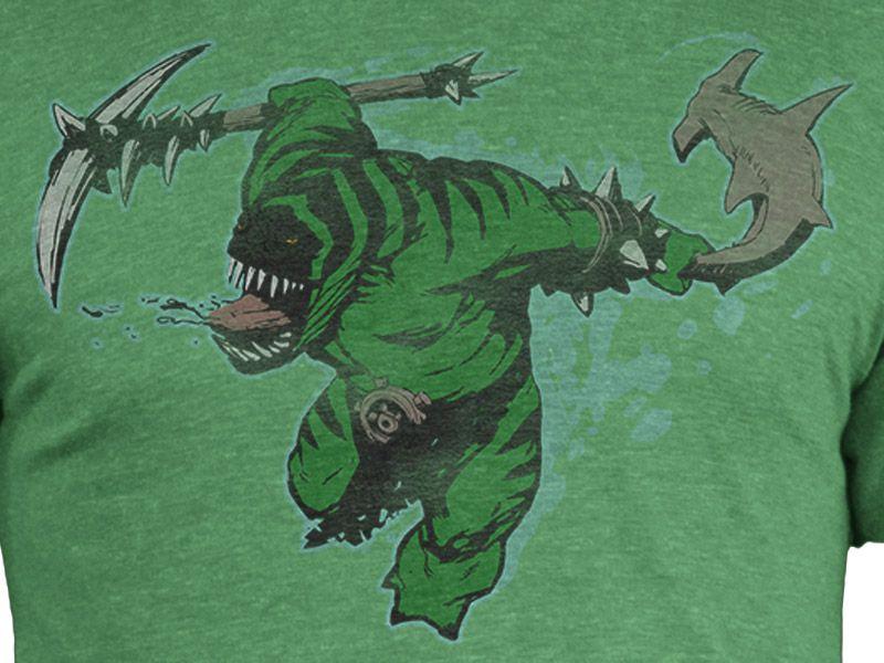 Тениска Dota 2 Tidehunter + Digital Unlock, зелена, размер M - 2