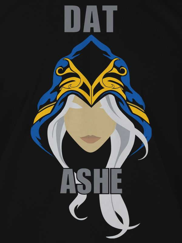 Тениска Jinx League of Legends - Dat Ashe, черна, размер M - 4