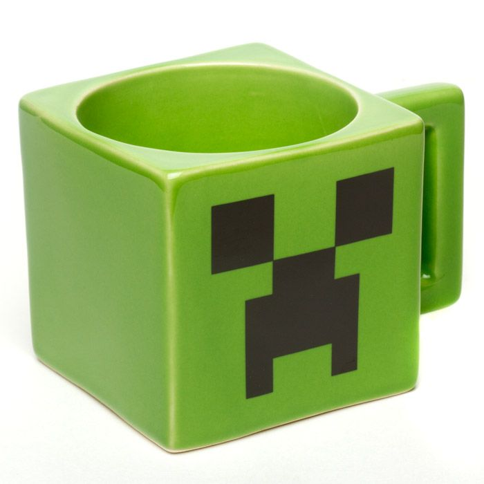 Jinx Minecraft Creeper Face Mug - 1