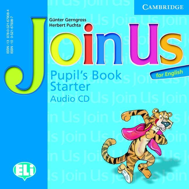 join-us-for-english-starter-pupil-s-book-audio-cd - 1