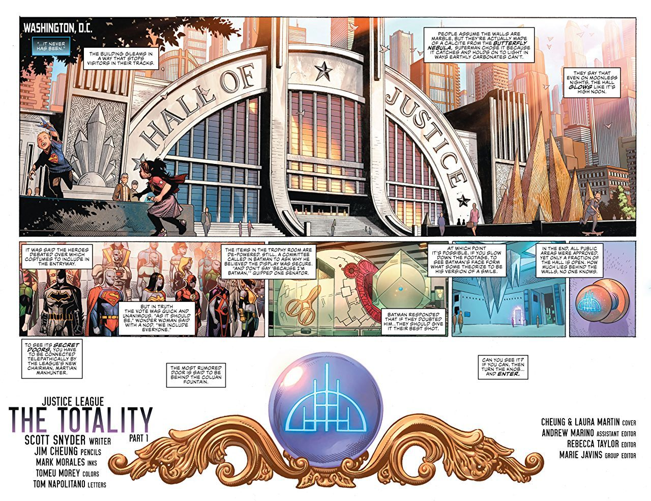 Justice League Vol. 1: The Totality-2 - 3