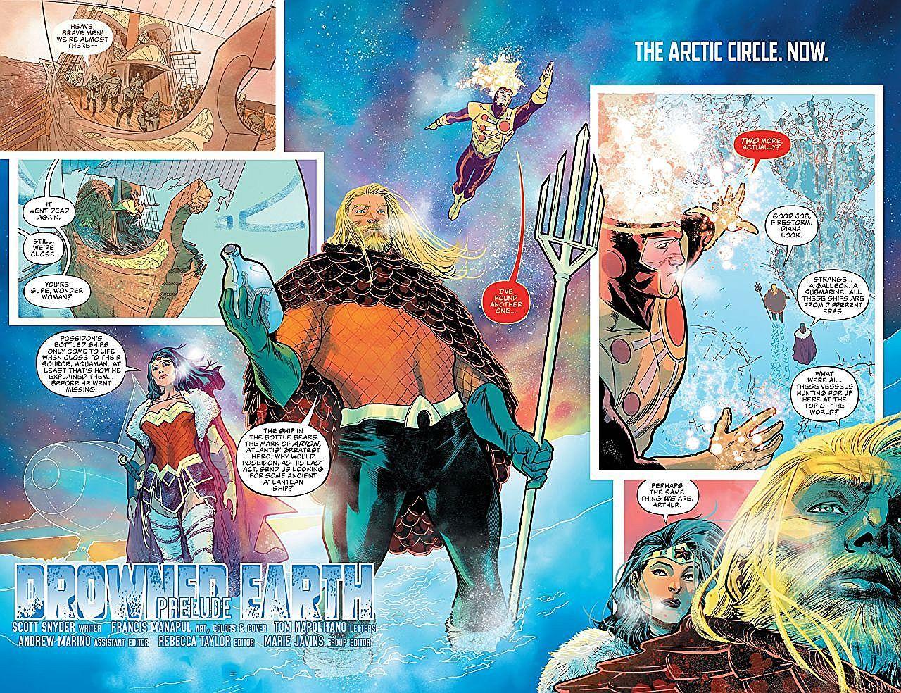 Justice League/Aquaman: Drowned Earth - 4