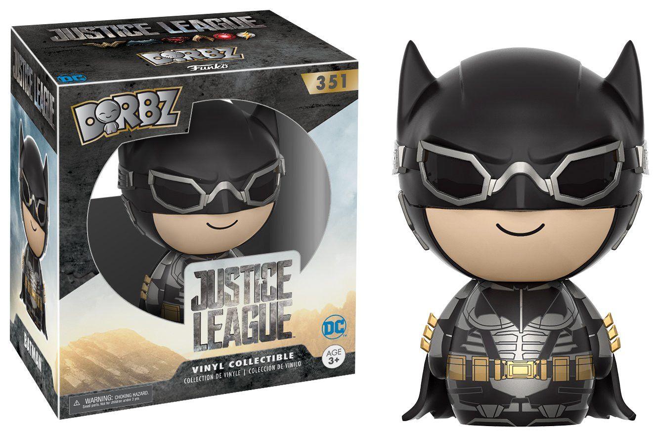 Фигура Funko Dorbz: DC Justice League - Batman Tactical, #351 - 2