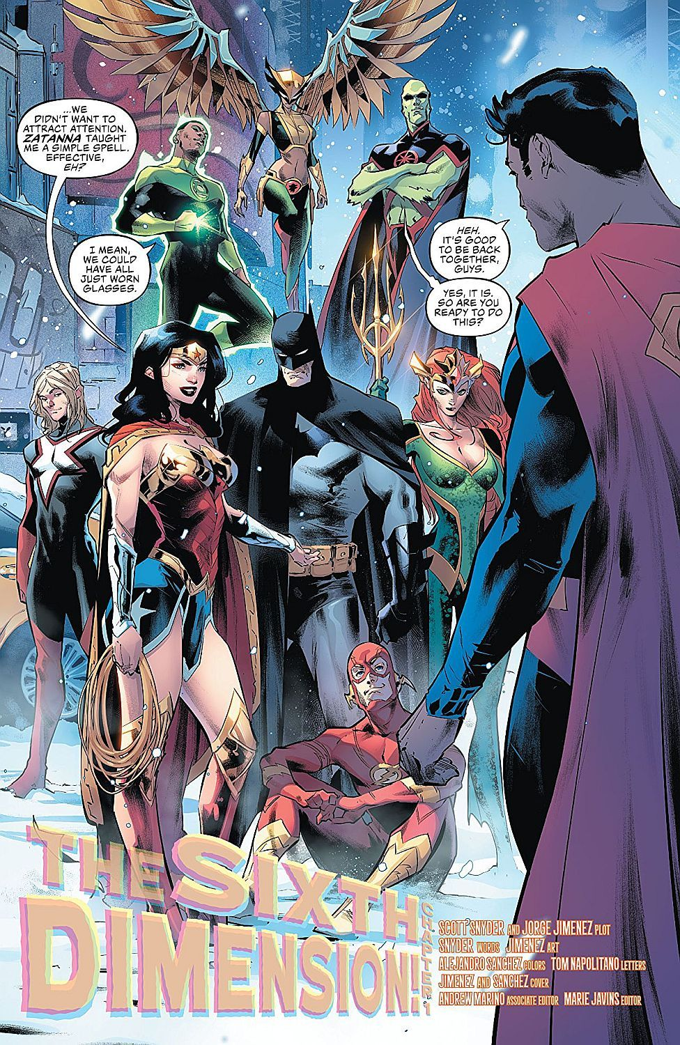 Justice League Vol. 4: The Sixth Dimension - 4