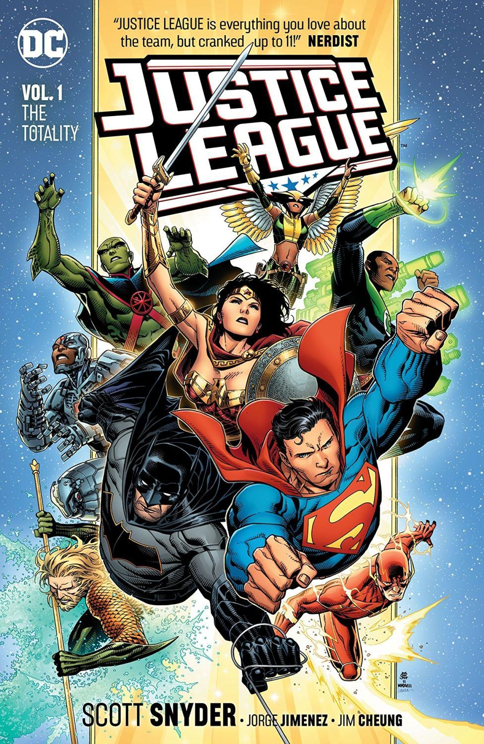 Justice League Vol. 1: The Totality - 1