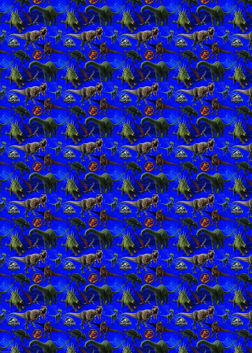 Подаръчна хартия Danilo - Jurassic World - 1