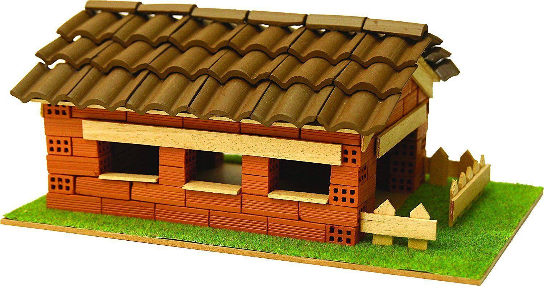 Сглобяем модел Domus Kits - Къща с истински тухли, комплект за начинаещи 7 - 1