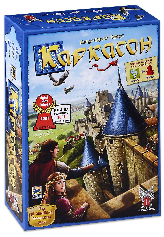 Настолна игра Каркасон (основна игра) - ново издание - 1