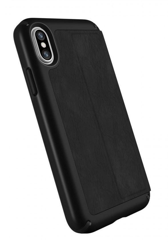 Калъф Speck Presidio Folio - за iPhone X, кожен, черен - 7