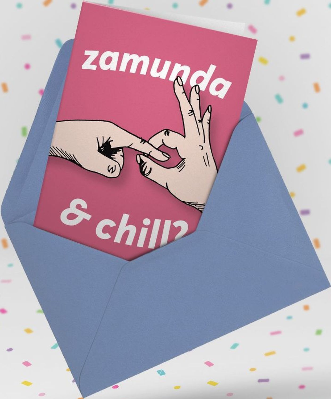 Картичка Мазно.бг - Zamunda & Chill?-2 - 3