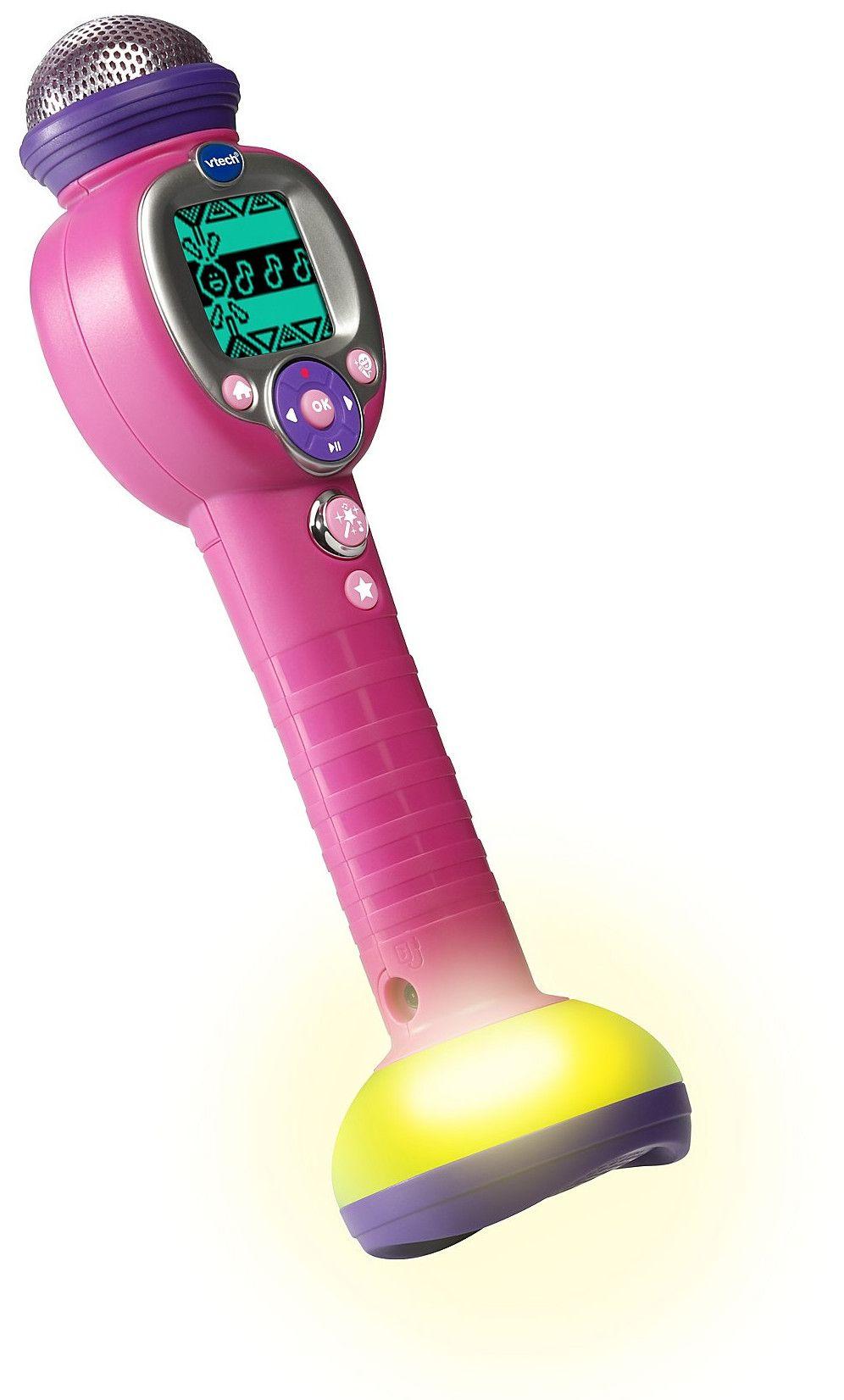 Детска играчка Vtech - Микрофон за караоке - 1