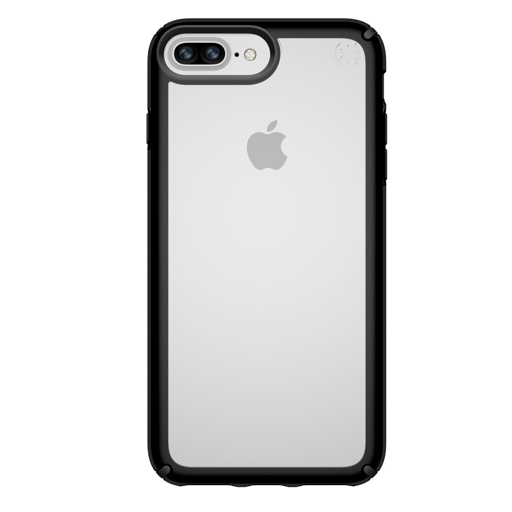 Калъф Speck Presidio Show - за iPhone 8 Plus, 6, 6S, 7 Plus, прозрачен/черен - 1