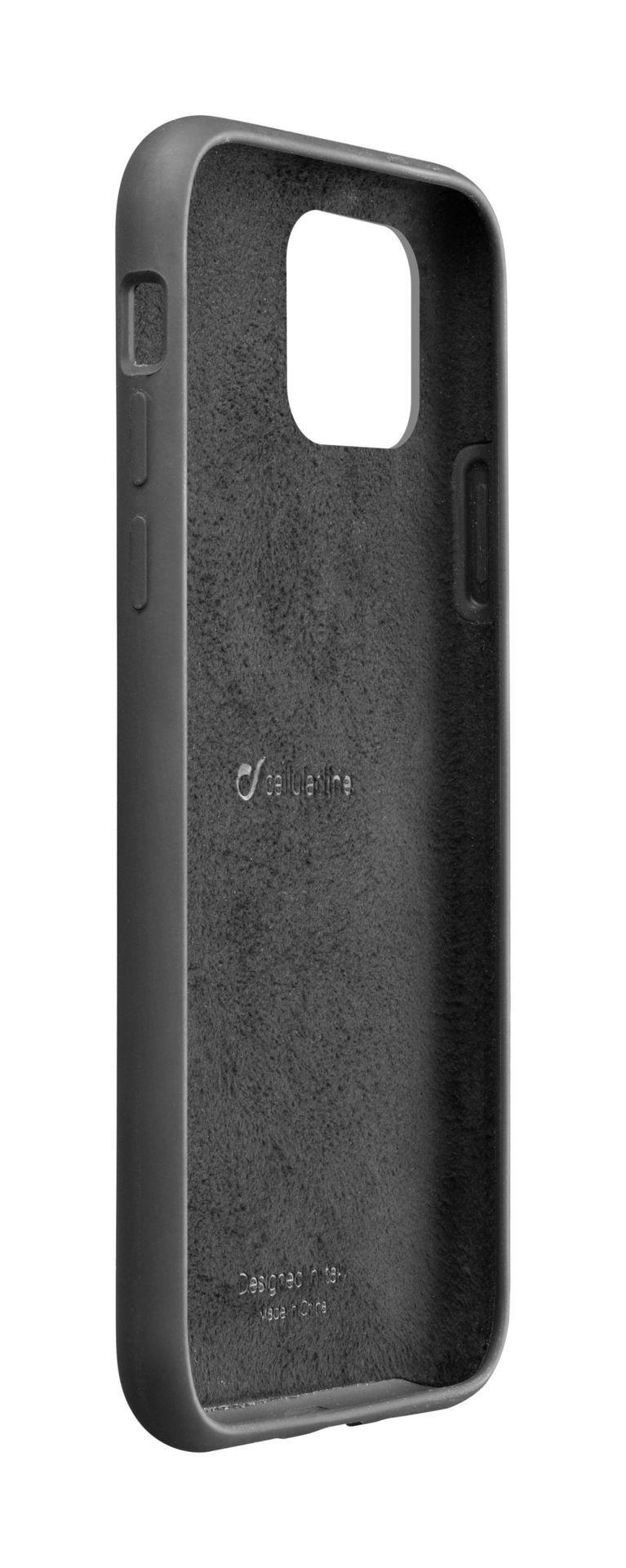 Калъф за iPhone 11 Cellularline - Sensation, черен - 2