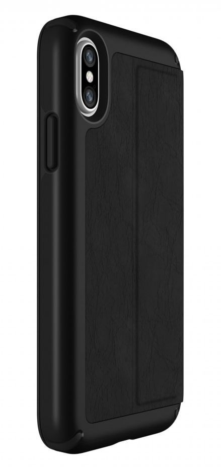 Калъф Speck Presidio Folio - за iPhone X, кожен, черен - 8