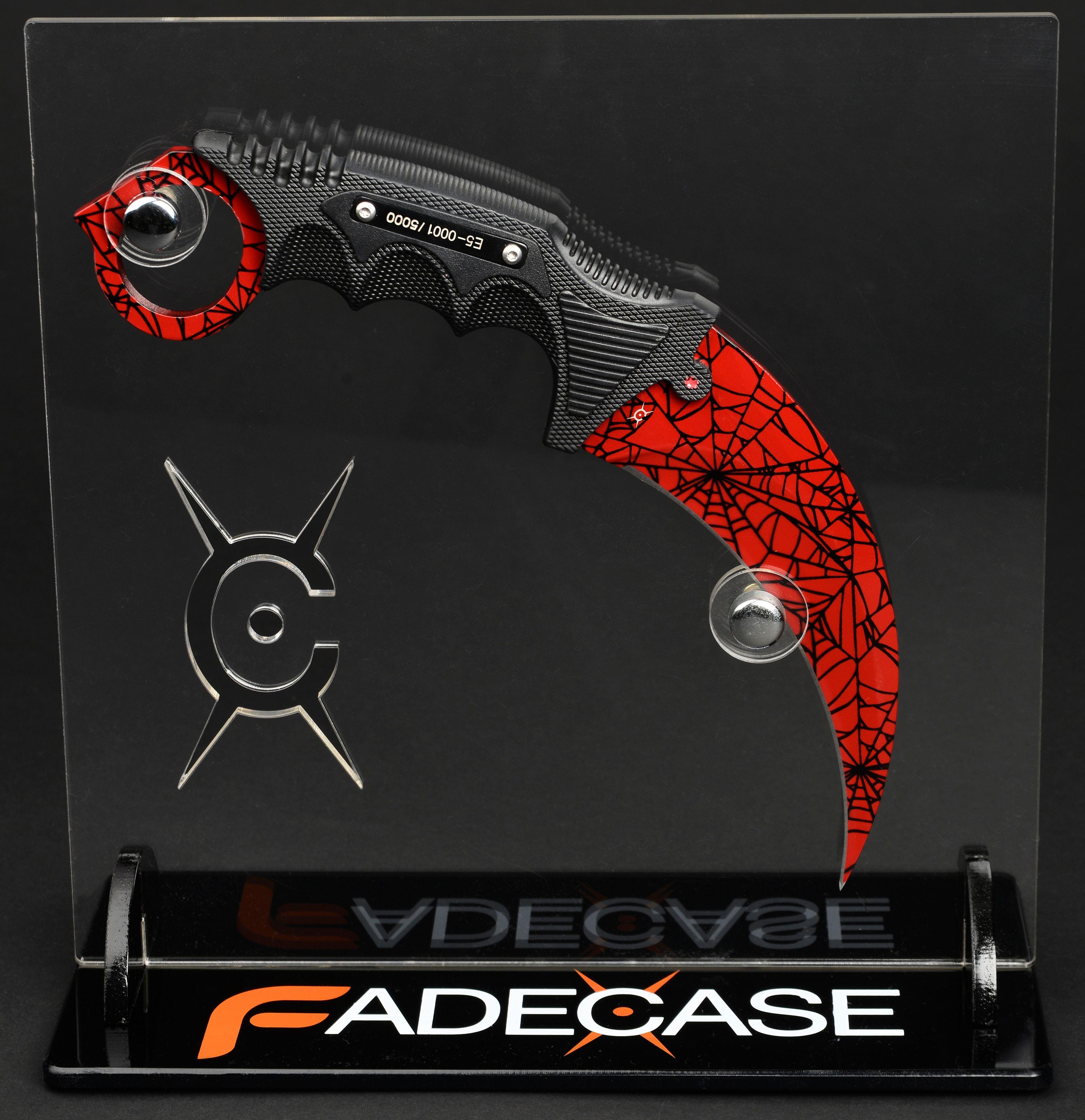 Нож FadeCase – Karambit Elite – Crimson Web - 3