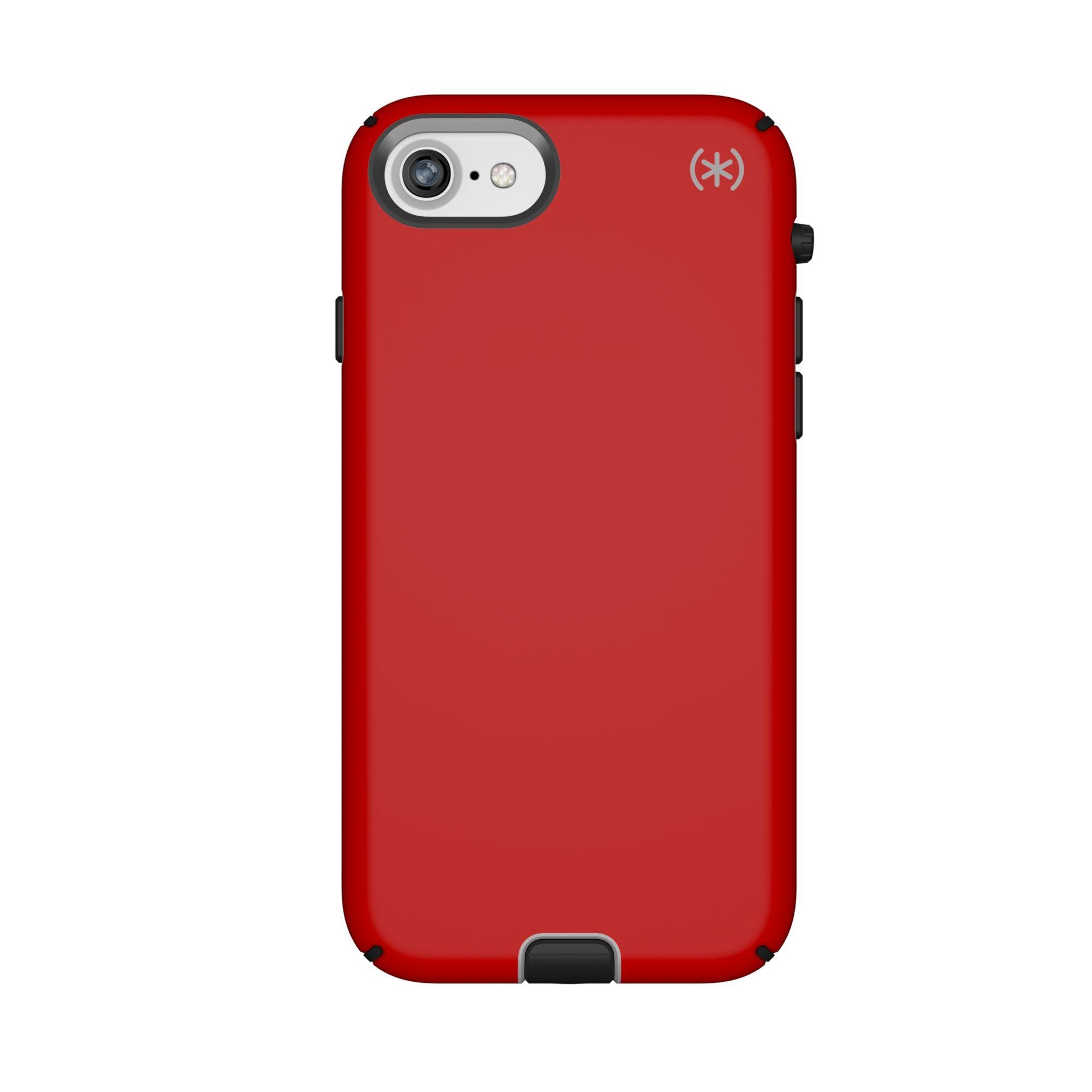 Калъф Speck Iphone 8/7 Presidio Sport - Heartrate Red/Sidewalk Grey/Black - 1