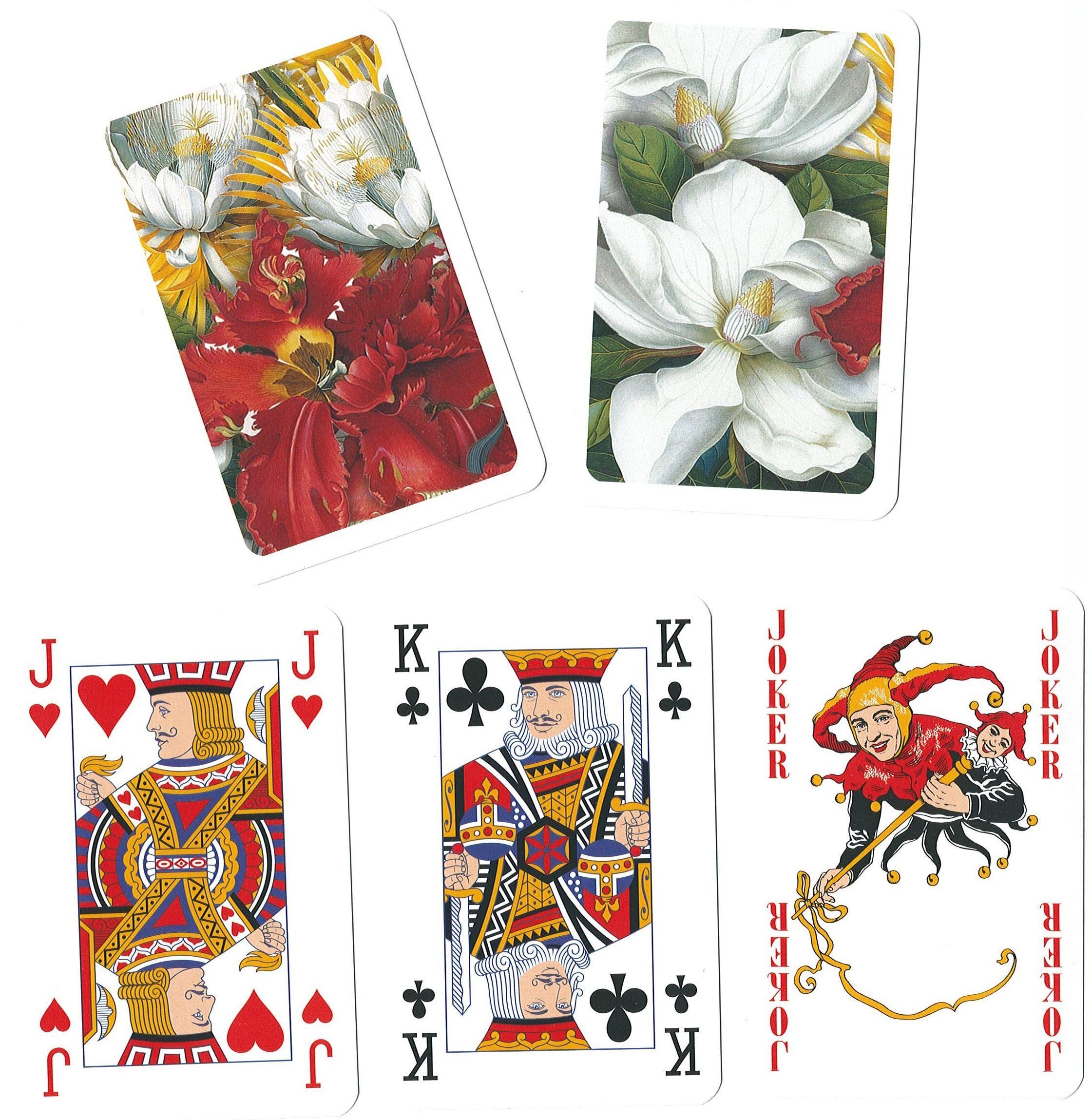 Карти за игра Piatnik - Floral Elegance (2 тестета) - 4