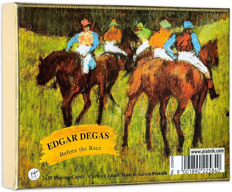 Карти за игра Piatnik - Degas - Before the Race (2 тестета) - 1