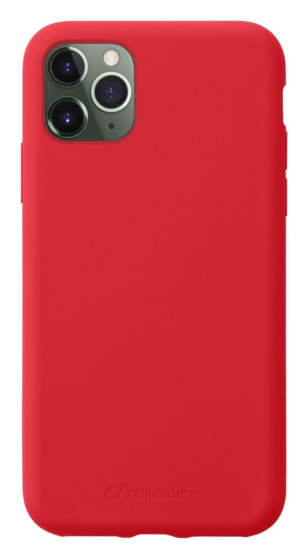 Калъф за iPhone 11 Pro Max Cellularline - Sensation, червен - 1