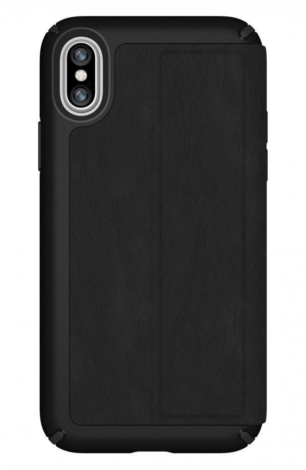 Калъф Speck Presidio Folio - за iPhone X, кожен, черен - 6