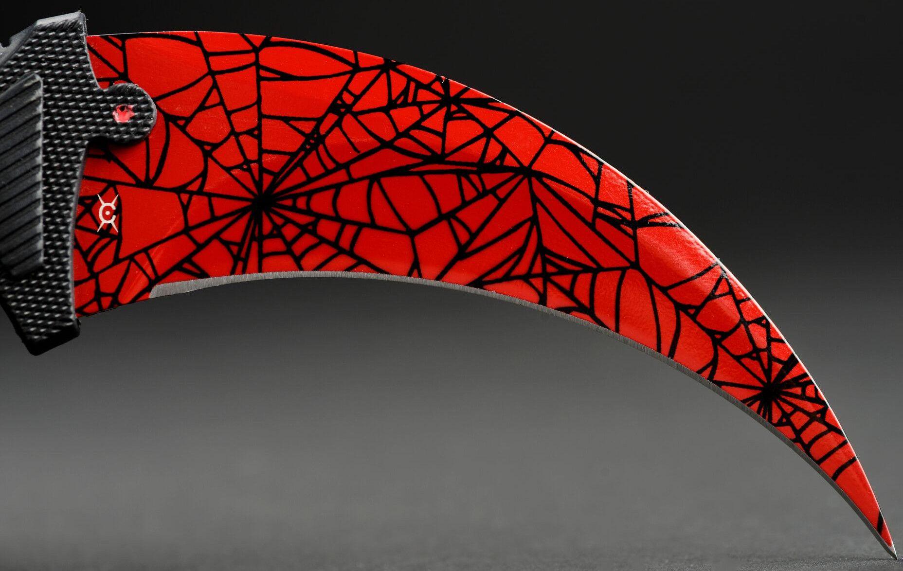 Нож FadeCase – Karambit Elite – Crimson Web - 2
