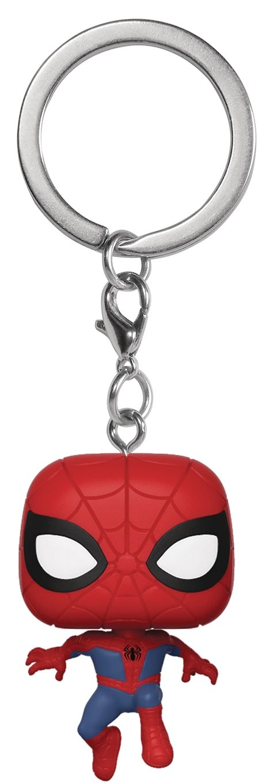 Ключодържател Funko Pocket POP! Spider-Man Into the Spider-Verse: Peter Parker  - 1