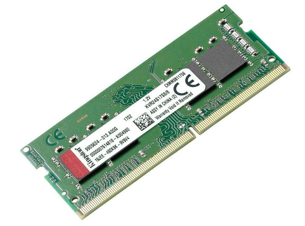 Оперативна памет KINGSTON 8GB 2400MHz DDR4 Non-ECC CL17 SODIMM 1Rx8 Lifetime - 1