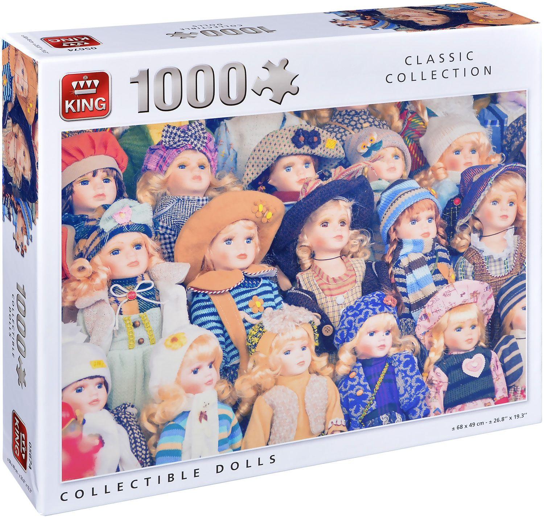 Пъзел King от 1000 части - Порцеланови кукли - 1
