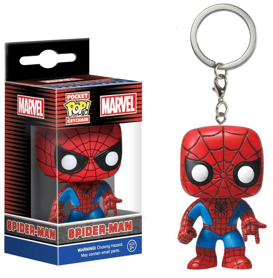 Ключодържател Funko Pocket Pop! Marvel - Spider-Man (Special Edition) - 2
