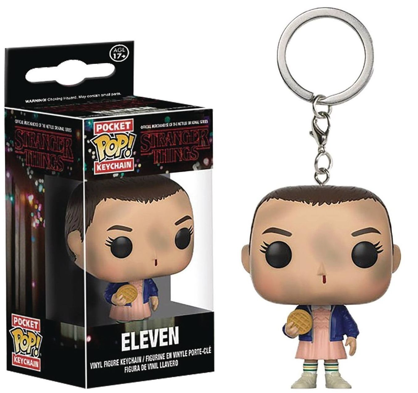 Ключодържател Funko Pocket Pop! Stranger Things - Eleven, 4 cm - 2