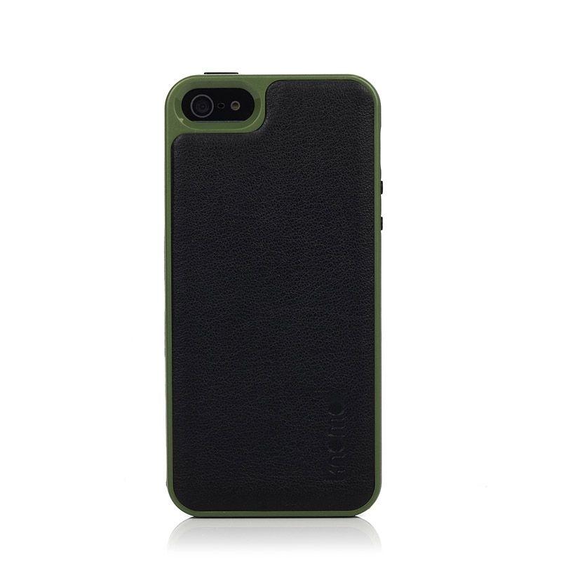 Knomo Leather Case за iPhone 5 -  черен - 1
