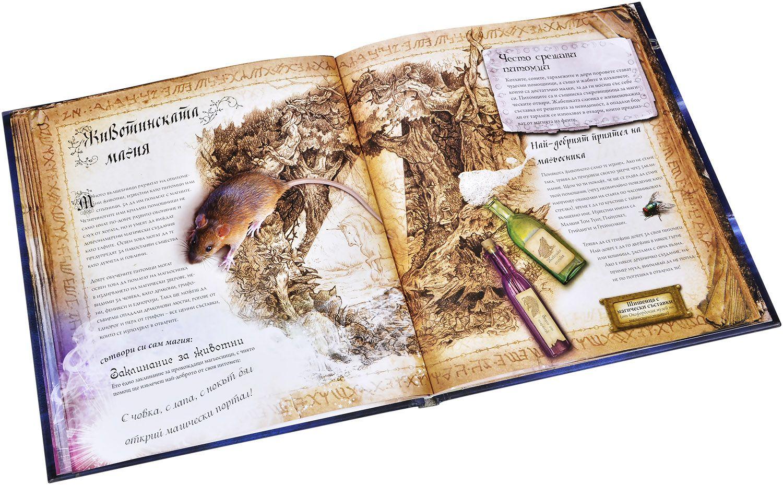 Магическа книга на вълшебствата. С триизмерни виртуални макети