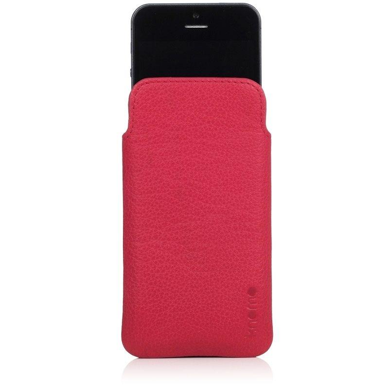 Knomo Ultraslim Pouch за iPhone 5 -  розов - 3