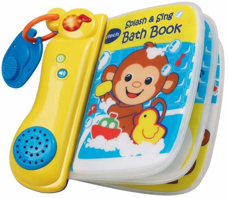 Образователна книжка Vtech - Музикална, за баня - 1
