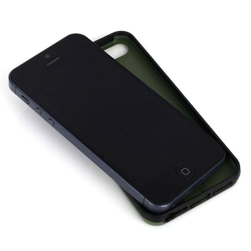 Knomo Leather Case за iPhone 5 -  черен - 3