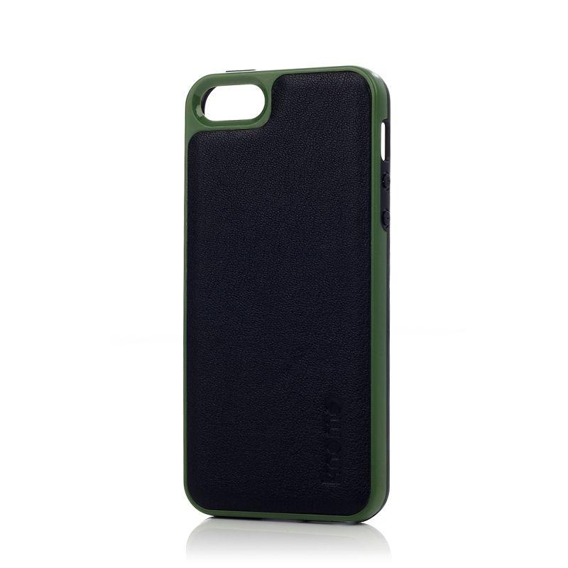 Knomo Leather Case за iPhone 5 -  черен - 4