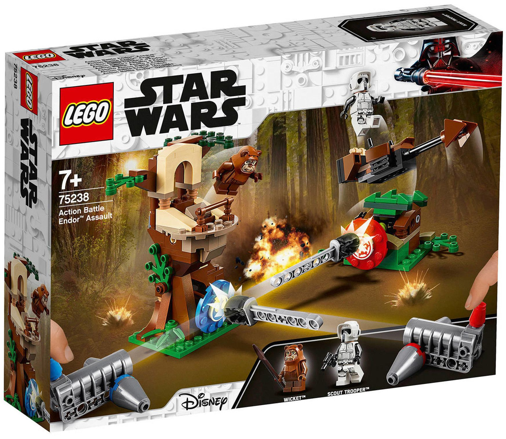 Конструктор Lego Star Wars - Action Battle Endor Assault (75238) - 1