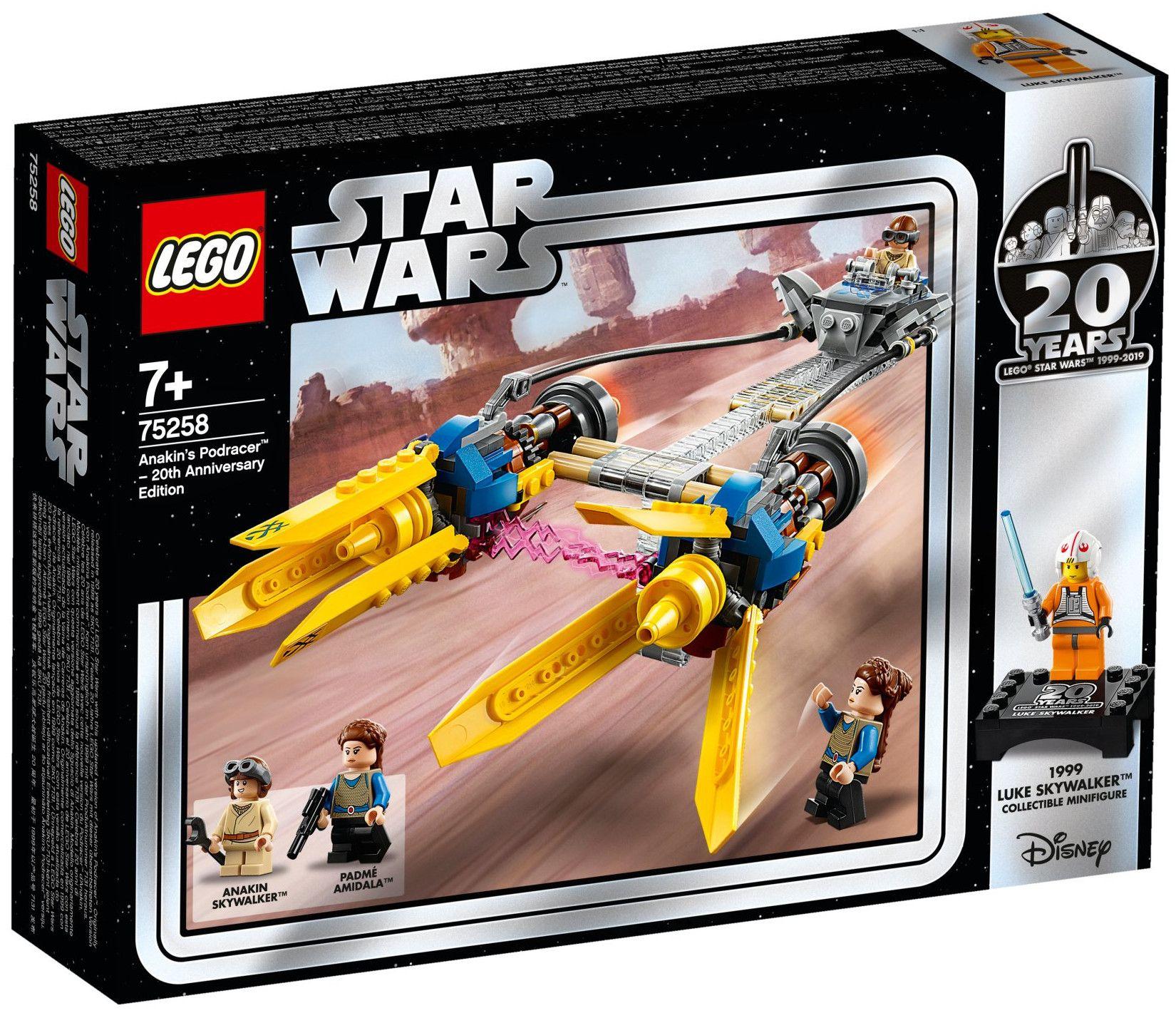 Конструктор Lego Star Wars -  Anakin's Podracer (75258) - 1